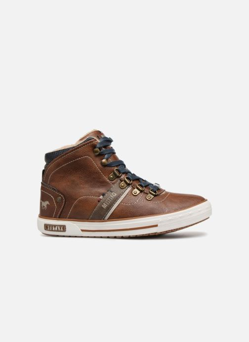 Sneakers Mustang shoes Heinrike Bruin achterkant