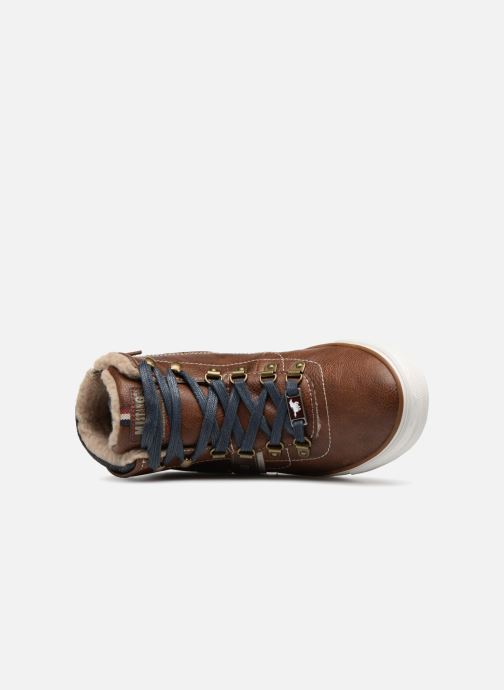 Sneakers Mustang shoes Heinrike Bruin links