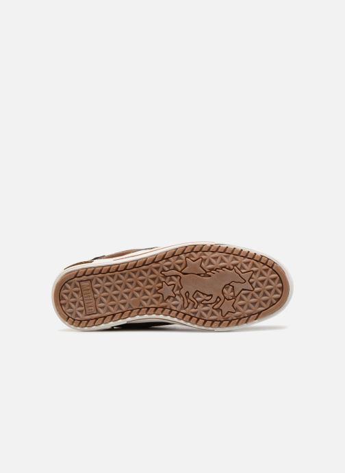 Sneakers Mustang shoes Heinrike Bruin boven