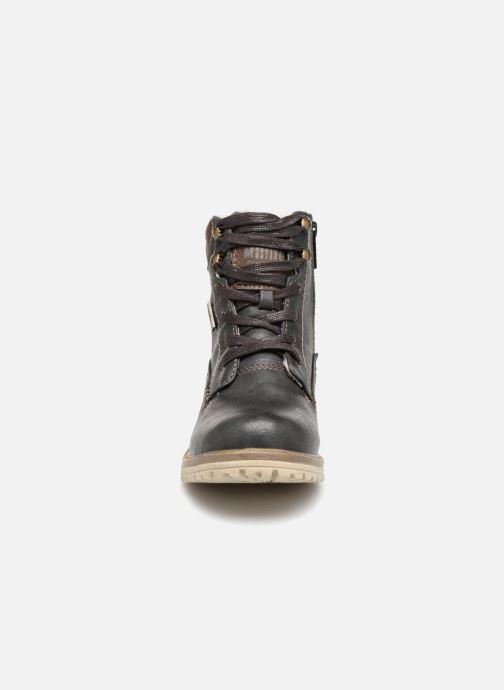 Bottines et boots Mustang shoes Lutgard Gris vue portées chaussures