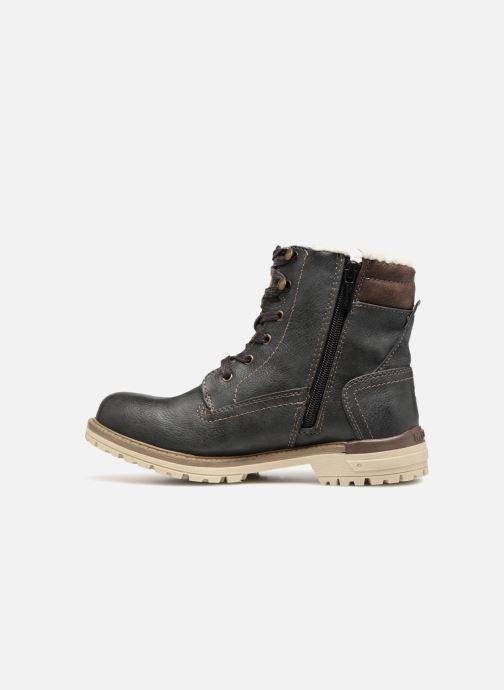 Bottines et boots Mustang shoes Lutgard Gris vue face