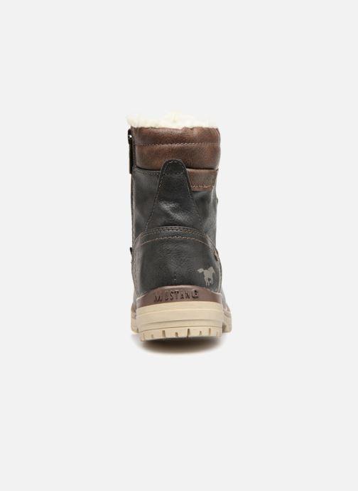 Bottines et boots Mustang shoes Lutgard Gris vue droite