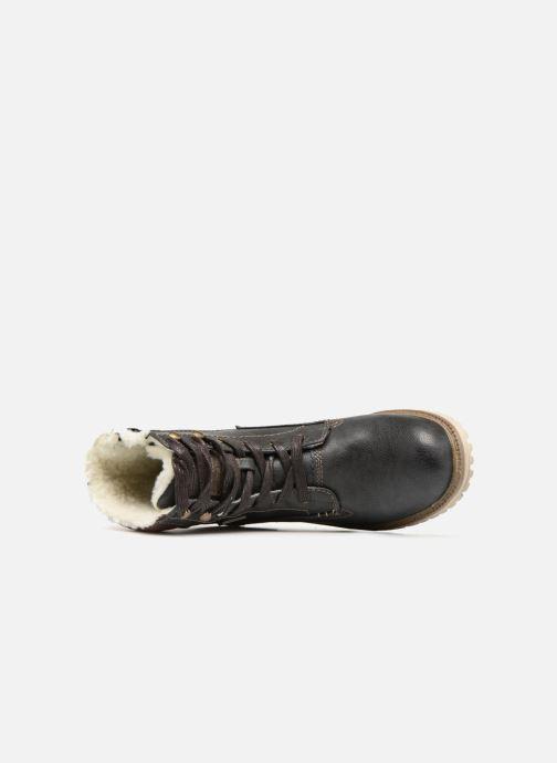 Bottines et boots Mustang shoes Lutgard Gris vue gauche