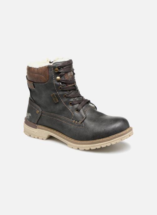 Bottines et boots Mustang shoes Lutgard Gris vue détail/paire