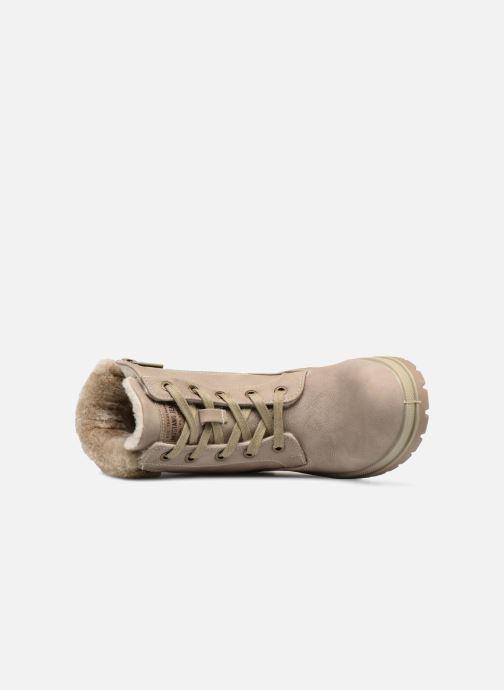 Bottines et boots Mustang shoes Helmina Beige vue gauche