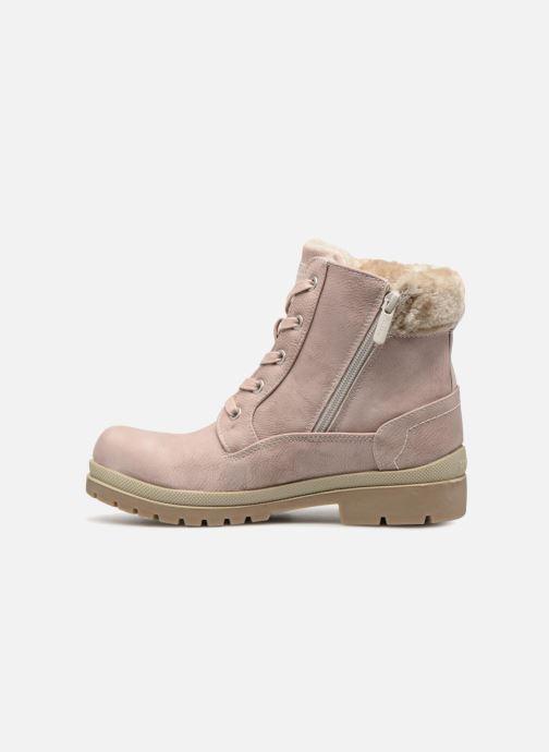 Boots en enkellaarsjes Mustang shoes Helmina Roze voorkant