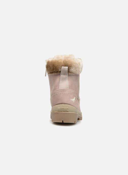Boots en enkellaarsjes Mustang shoes Helmina Roze rechts