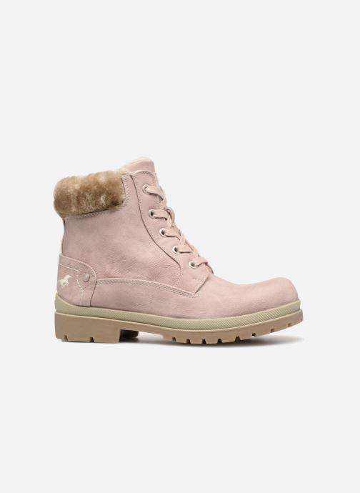 Boots en enkellaarsjes Mustang shoes Helmina Roze achterkant