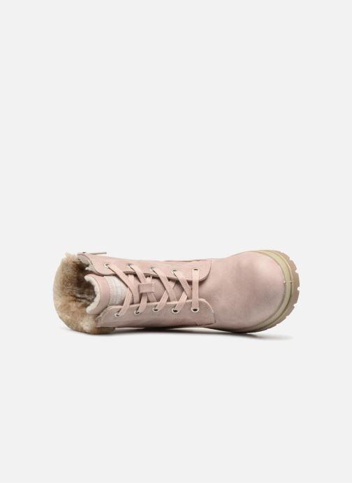 Boots en enkellaarsjes Mustang shoes Helmina Roze links