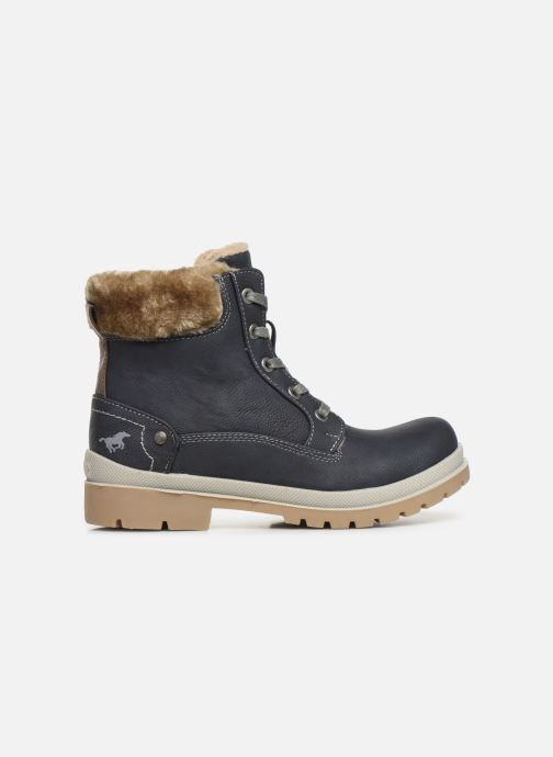 Bottines et boots Mustang shoes Helmina Bleu vue derrière
