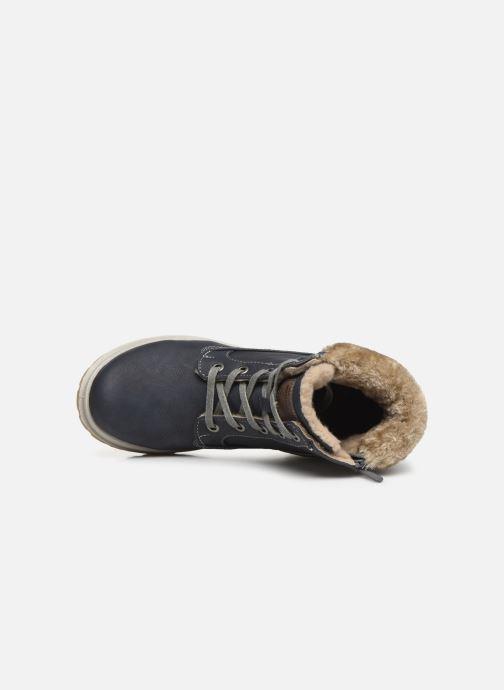 Bottines et boots Mustang shoes Helmina Bleu vue gauche