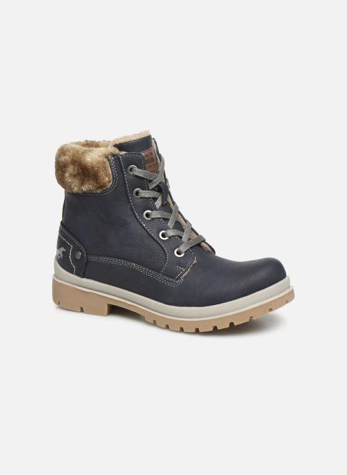 Bottines et boots Mustang shoes Helmina Bleu vue détail/paire