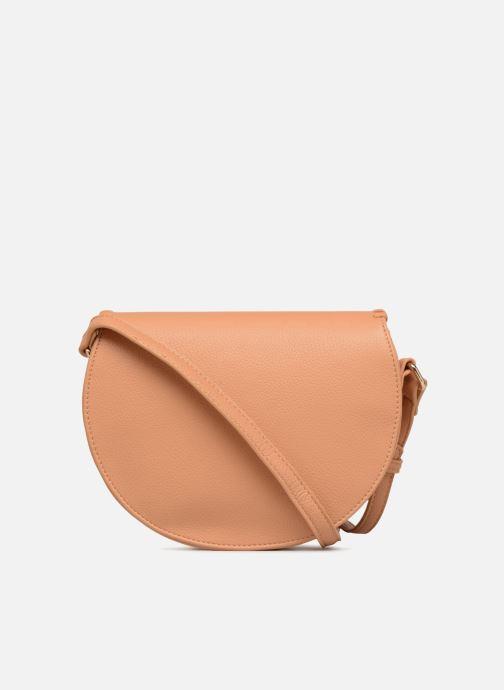 Handbags Street Level Cresent shaped w/tassel Beige front view