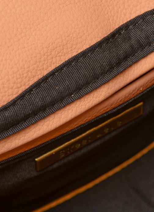 Handbags Street Level Cresent shaped w/tassel Beige back view