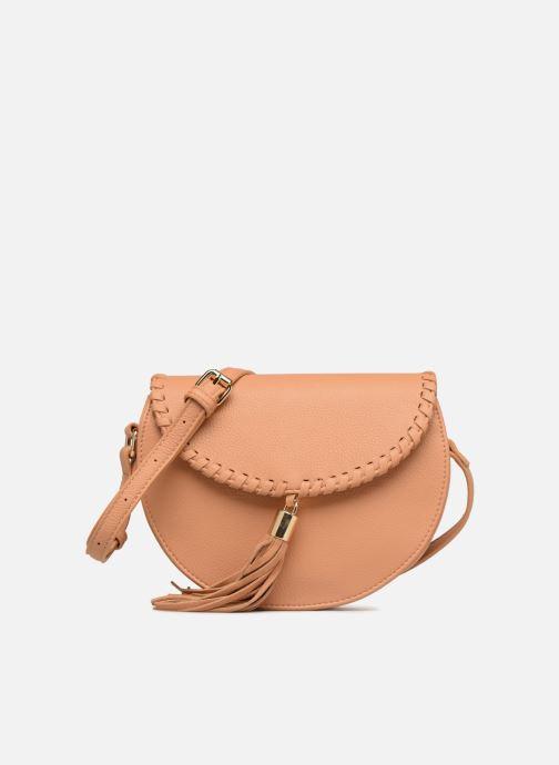 Handbags Street Level Cresent shaped w/tassel Beige detailed view/ Pair view