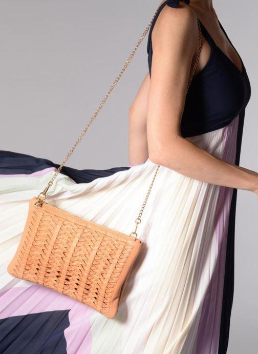 Handbags Street Level Women crossbody bag Brown view from underneath / model view