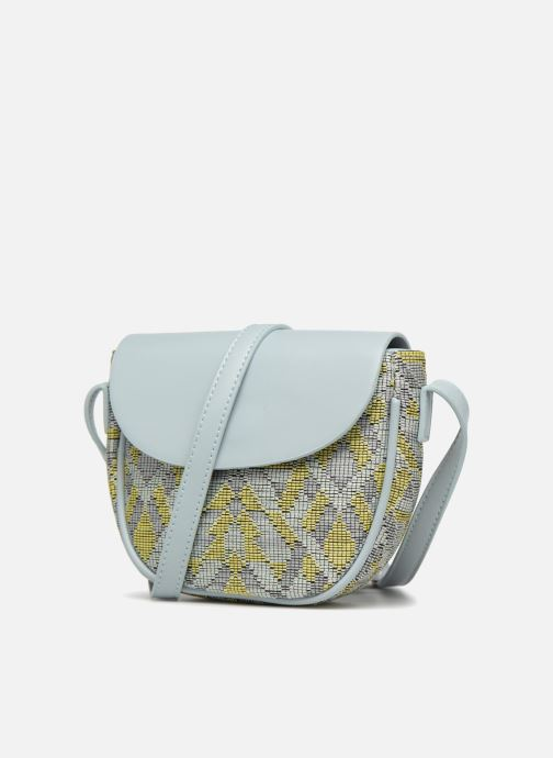 Handbags Street Level Straw crossbody bag Grey model view