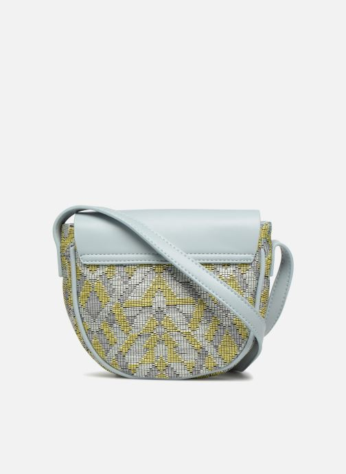 Borse Street Level Straw crossbody bag Grigio immagine frontale