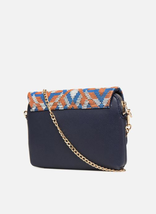 Handbags Street Level Crossbody bag Blue view from the right