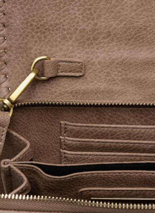 Sacs à main Street Level Saddle stitch crossbody Marron vue derrière