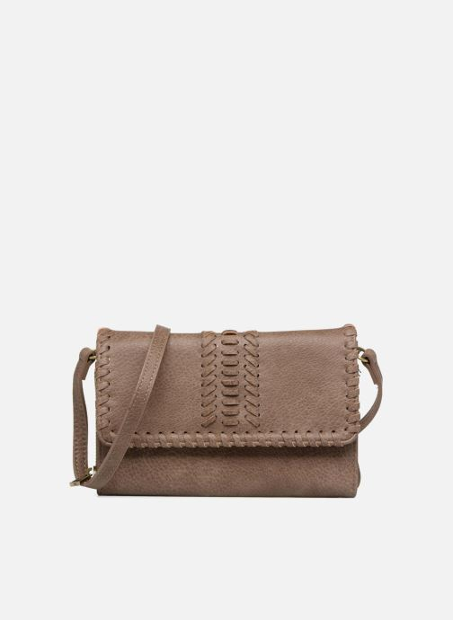 Handbags Street Level Saddle stitch crossbody Brown detailed view/ Pair view