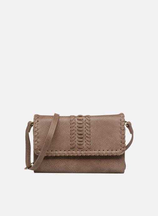 Handbags Street Level Saddle stitch crossbody Brown detailed view/ Pair view