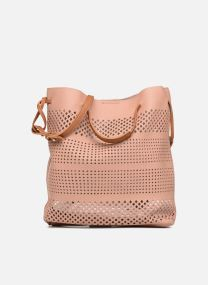 Sacs à main Sacs Pull through perforated bucket bag