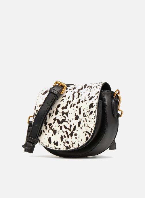 Sacs à main Street Level Western saddle bag Noir vue portées chaussures