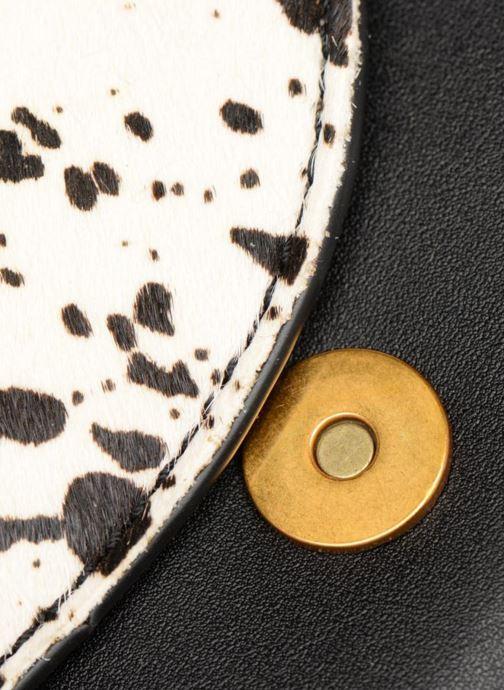 Sacs à main Street Level Western saddle bag Noir vue gauche