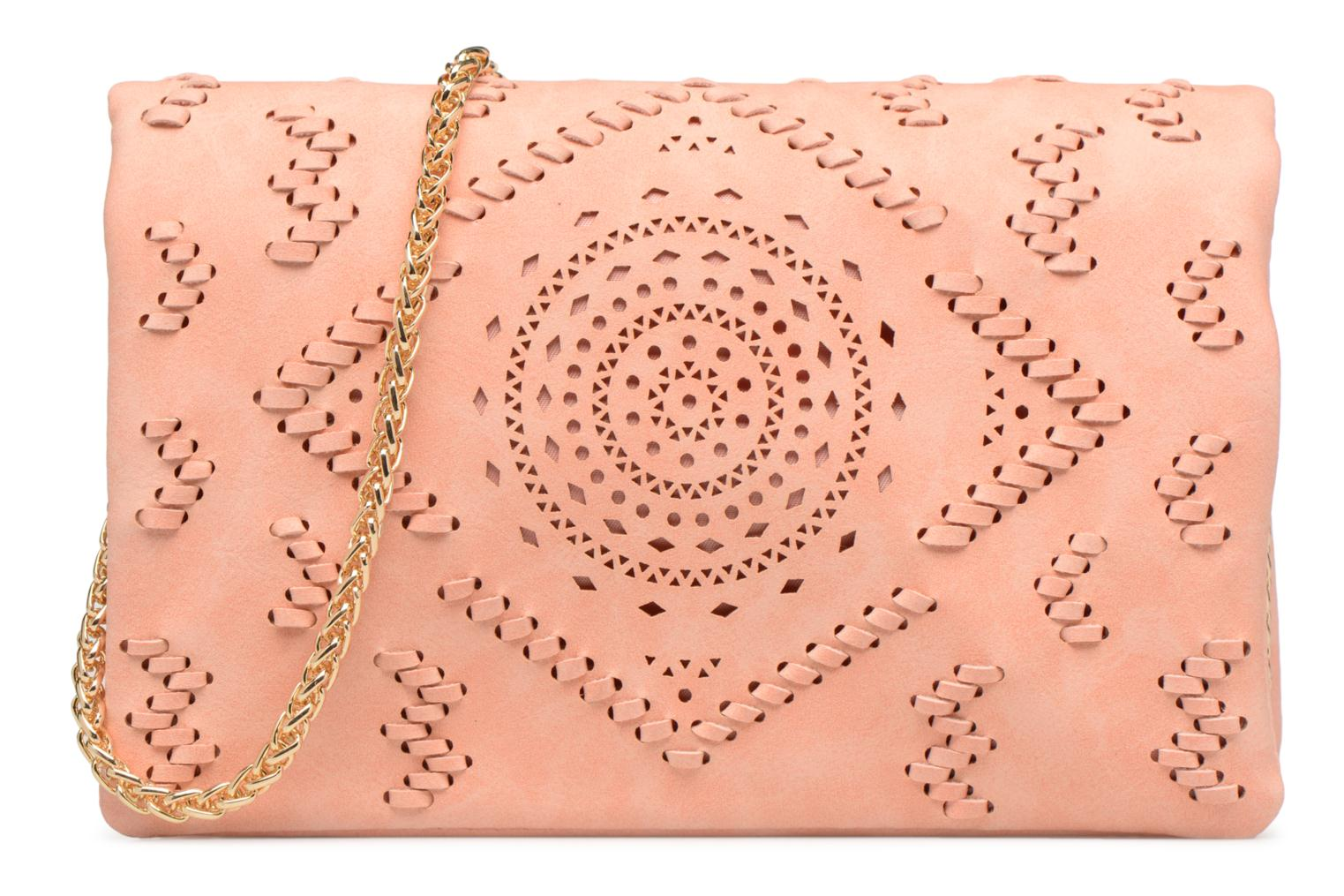 Clutch CORAL SALMON Street Level with studs 5F7pPpq