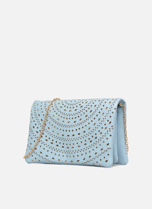 Handbags Street Level Perforated crossbody Blue model view