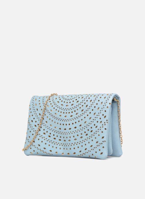 Handbags Street Level Perforated crossbody Blue model view
