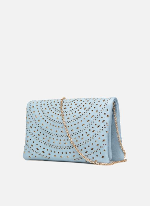 Handbags Street Level Perforated crossbody Blue view from the right