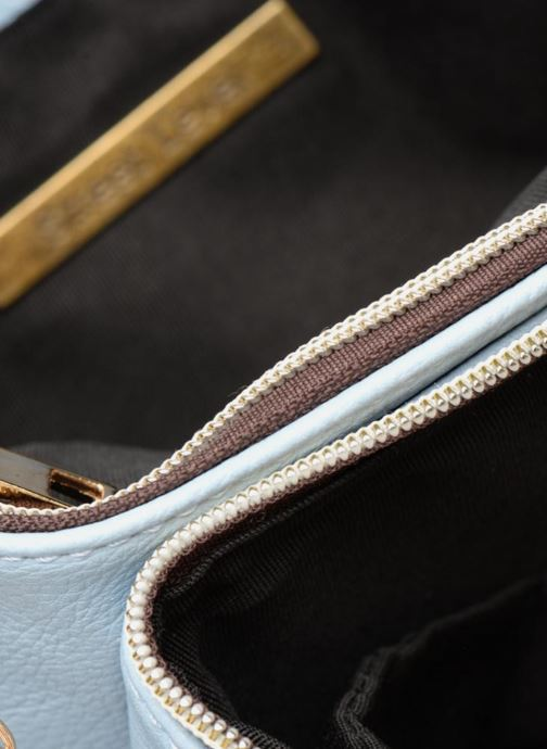 Handbags Street Level Perforated crossbody Blue back view