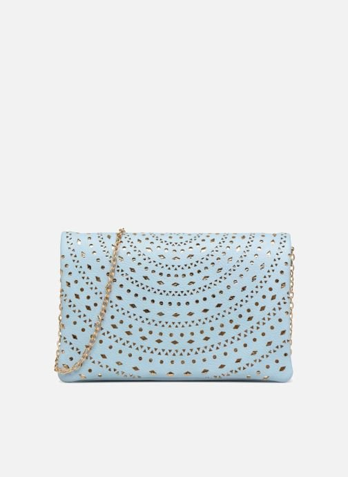 Handbags Street Level Perforated crossbody Blue detailed view/ Pair view