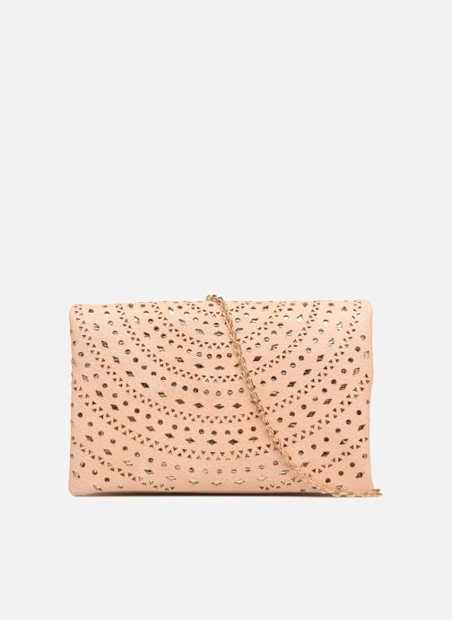 Handbags Street Level Perforated crossbody Beige front view