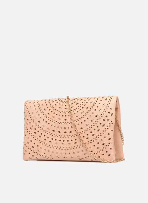 Handbags Street Level Perforated crossbody Beige view from the right