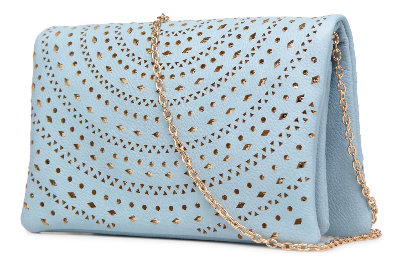 Handtaschen Street Level Perforated crossbody blau ansicht von rechts