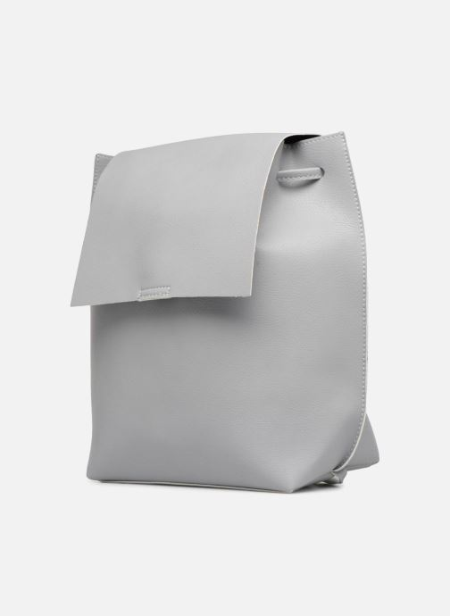 Sacs à dos Street Level Slouch thin strap backpack Gris vue portées chaussures