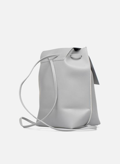 Rucksacks Street Level Slouch thin strap backpack Grey view from the right