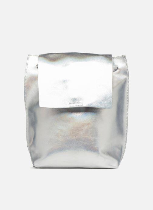 Sacs à dos Street Level Slouch thin strap backpack Argent vue détail/paire