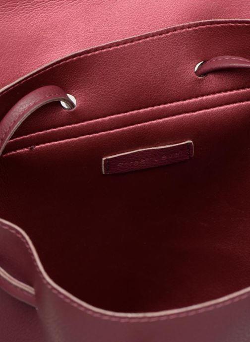 Rucksacks Street Level Slouch thin strap backpack Burgundy back view