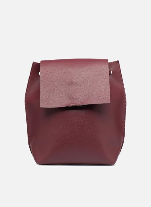 Rucksacks Street Level Slouch thin strap backpack Burgundy detailed view/ Pair view