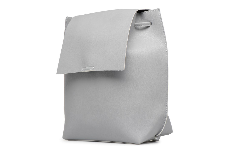 Rugzakken Street Level Slouch thin strap backpack Grijs model