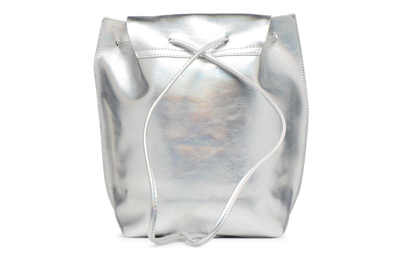 Rucksäcke Street Level Slouch thin strap backpack silber ansicht von vorne