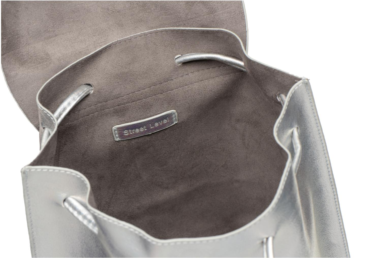 Rucksäcke Street Level Slouch thin strap backpack silber ansicht von hinten