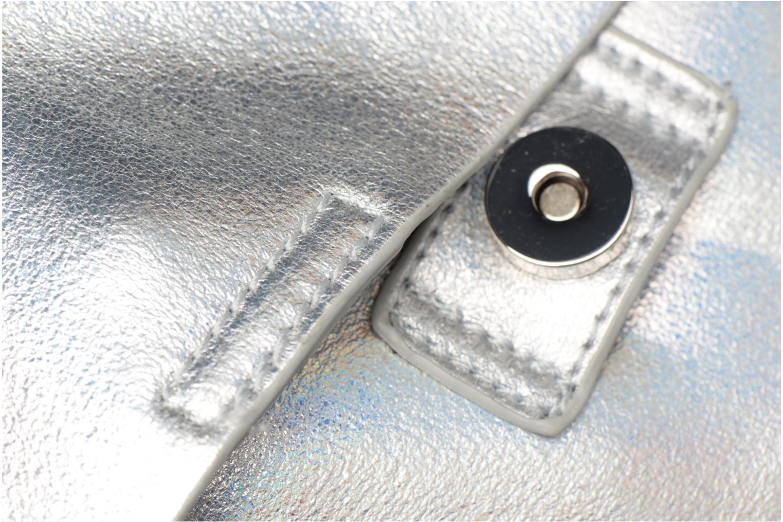 Rucksäcke Street Level Slouch thin strap backpack silber ansicht von links