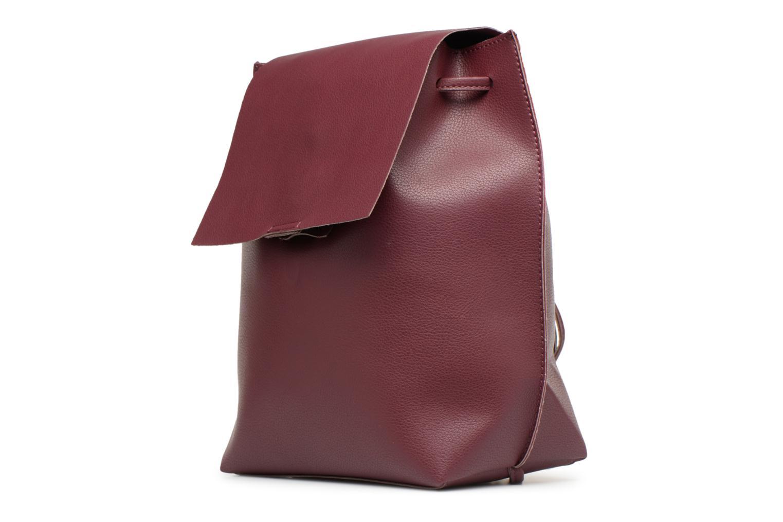 Rugzakken Street Level Slouch thin strap backpack Bordeaux model
