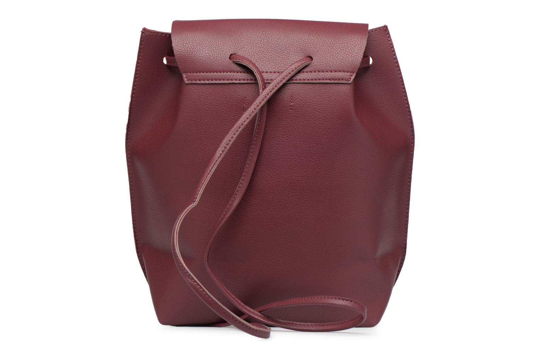 Rugzakken Street Level Slouch thin strap backpack Bordeaux voorkant
