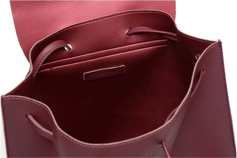 Rugzakken Street Level Slouch thin strap backpack Bordeaux achterkant